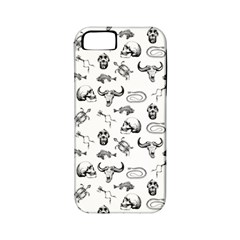 Skeleton Pattern Apple Iphone 5 Classic Hardshell Case (pc+silicone) by Valentinaart