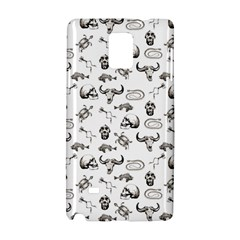 Skeleton Pattern Samsung Galaxy Note 4 Hardshell Case by Valentinaart