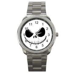 Halloween Sport Metal Watch by Valentinaart