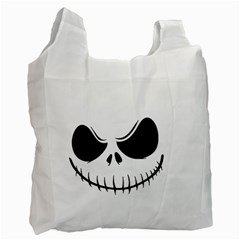 Halloween Recycle Bag (two Side)  by Valentinaart