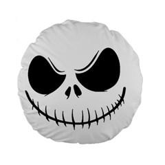 Halloween Standard 15  Premium Round Cushions by Valentinaart