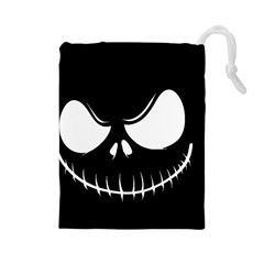 Halloween Drawstring Pouches (large)  by Valentinaart