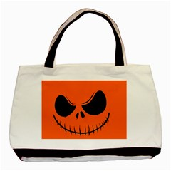 Halloween Basic Tote Bag (two Sides) by Valentinaart