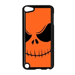 Halloween Apple Ipod Touch 5 Case (black) by Valentinaart
