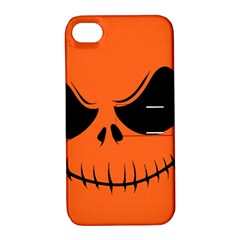 Halloween Apple Iphone 4/4s Hardshell Case With Stand by Valentinaart
