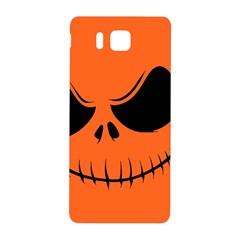 Halloween Samsung Galaxy Alpha Hardshell Back Case by Valentinaart
