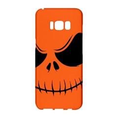 Halloween Samsung Galaxy S8 Hardshell Case  by Valentinaart