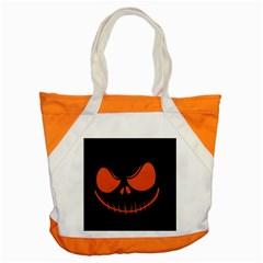 Halloween Accent Tote Bag by Valentinaart