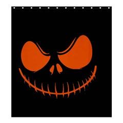 Halloween Shower Curtain 66  X 72  (large)  by Valentinaart