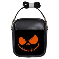Halloween Girls Sling Bags by Valentinaart