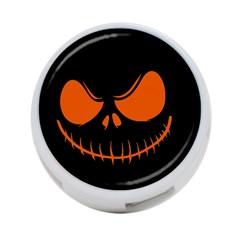 Halloween 4 Port Usb Hub (two Sides)  by Valentinaart