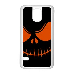 Halloween Samsung Galaxy S5 Case (white) by Valentinaart