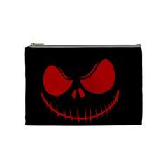 Halloween Cosmetic Bag (medium)  by Valentinaart