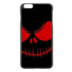 Halloween Apple Iphone 6 Plus/6s Plus Black Enamel Case by Valentinaart