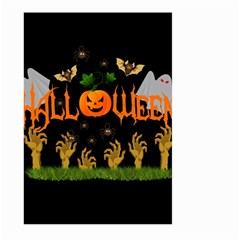 Halloween Large Garden Flag (two Sides) by Valentinaart