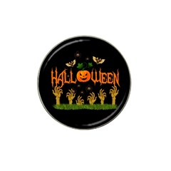 Halloween Hat Clip Ball Marker by Valentinaart