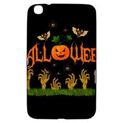 Halloween Samsung Galaxy Tab 3 (8 ) T3100 Hardshell Case  by Valentinaart
