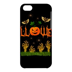 Halloween Apple Iphone 5c Hardshell Case by Valentinaart