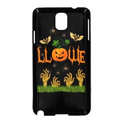 Halloween Samsung Galaxy Note 3 Neo Hardshell Case (black) by Valentinaart