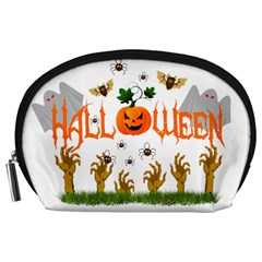 Halloween Accessory Pouches (large)  by Valentinaart