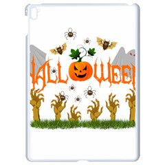 Halloween Apple Ipad Pro 9 7   White Seamless Case by Valentinaart