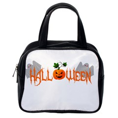 Halloween Classic Handbags (one Side) by Valentinaart