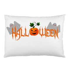 Halloween Pillow Case (two Sides) by Valentinaart