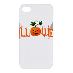 Halloween Apple Iphone 4/4s Premium Hardshell Case by Valentinaart