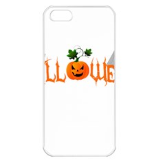 Halloween Apple Iphone 5 Seamless Case (white) by Valentinaart