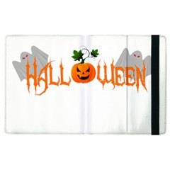 Halloween Apple Ipad 2 Flip Case by Valentinaart