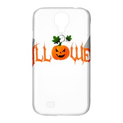 Halloween Samsung Galaxy S4 Classic Hardshell Case (pc+silicone) by Valentinaart