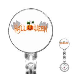 Halloween Stainless Steel Nurses Watch by Valentinaart