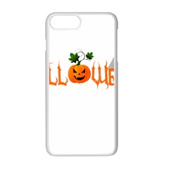 Halloween Apple Iphone 7 Plus White Seamless Case by Valentinaart