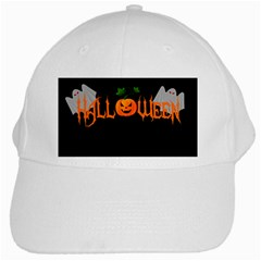 Halloween White Cap by Valentinaart