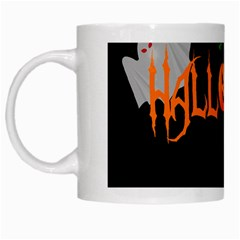 Halloween White Mugs by Valentinaart