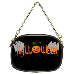Halloween Chain Purses (one Side)  by Valentinaart
