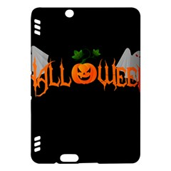 Halloween Kindle Fire Hdx Hardshell Case by Valentinaart