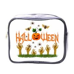Halloween Mini Toiletries Bags by Valentinaart