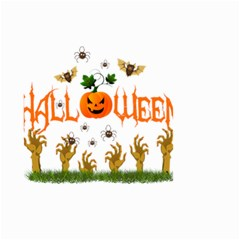 Halloween Small Garden Flag (two Sides) by Valentinaart