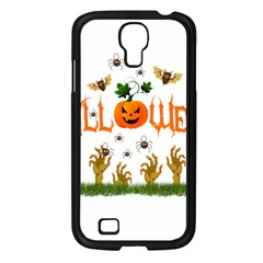 Halloween Samsung Galaxy S4 I9500/ I9505 Case (black) by Valentinaart