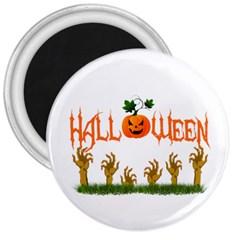 Halloween 3  Magnets by Valentinaart