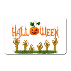 Halloween Magnet (rectangular) by Valentinaart