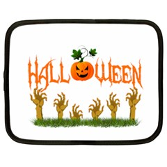 Halloween Netbook Case (xxl)  by Valentinaart