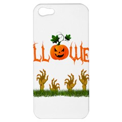 Halloween Apple Iphone 5 Hardshell Case by Valentinaart