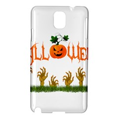 Halloween Samsung Galaxy Note 3 N9005 Hardshell Case by Valentinaart