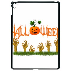 Halloween Apple Ipad Pro 9 7   Black Seamless Case by Valentinaart