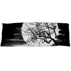 Halloween Landscape Body Pillow Case Dakimakura (two Sides) by Valentinaart