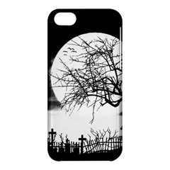 Halloween Landscape Apple Iphone 5c Hardshell Case by Valentinaart