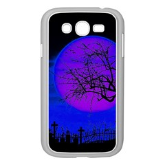 Halloween Landscape Samsung Galaxy Grand Duos I9082 Case (white) by Valentinaart