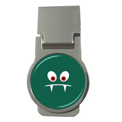 Angry Monster Money Clips (round)  by linceazul